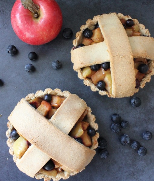Gluten-Free Apple & Blueberry Pie