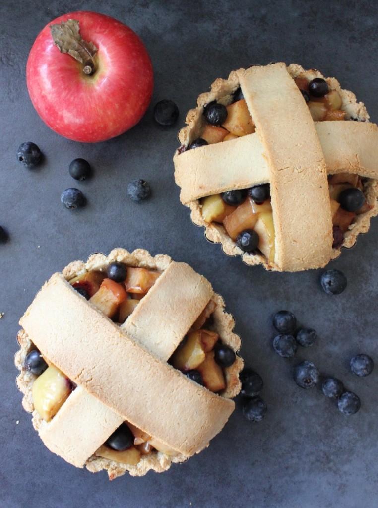 Gluten-Free Apple & Blueberry Pie