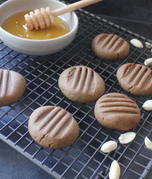 Teff Peanut Butter Cookies, Gluten-Free