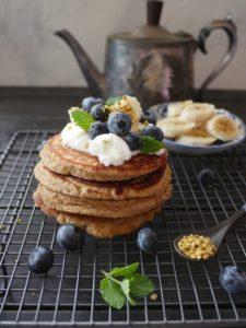 Gluten-free Almond & Coconut Pancakes
