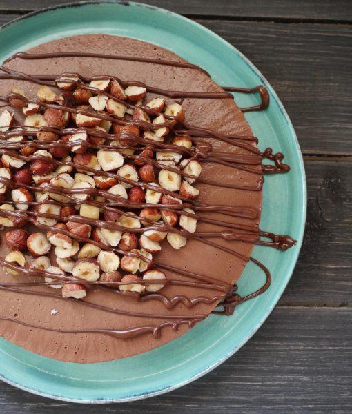 Raw Nutella Cake