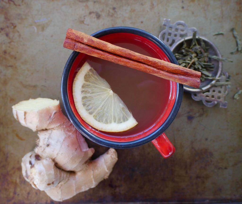 Warm Apple Cider Vinegar Green Tea