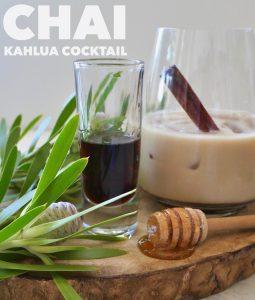 Iced Tea Cocktail, Chai Irish Cream
