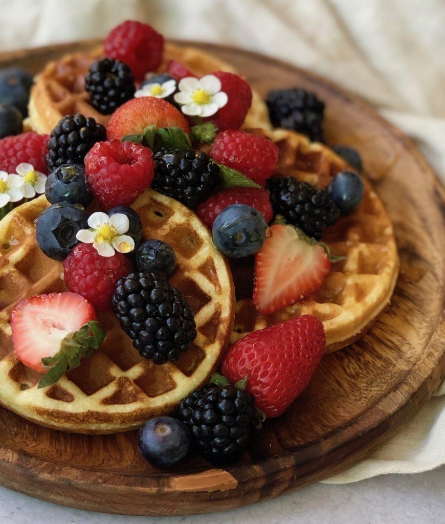 healthy gluten-free waffles