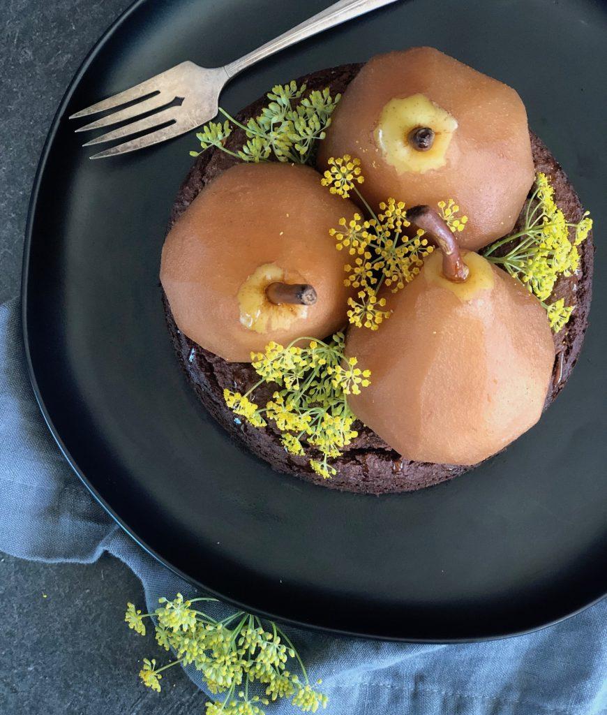 gluten-free chai cake